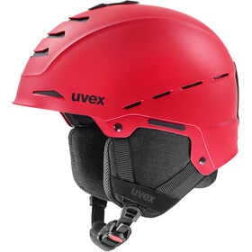 UVEX Legend Kask, red mat